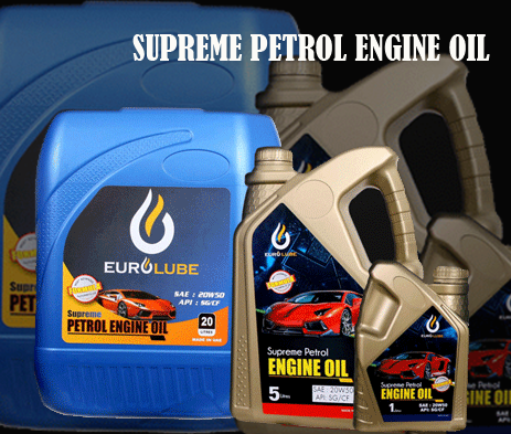 SUPREME PETROL ENGINE OIL-EURO PETROLEUM